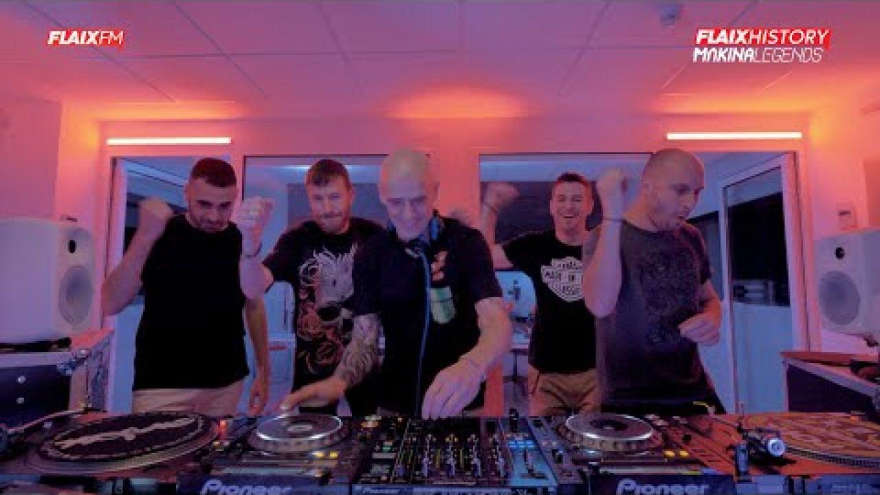 Flaix History Màkina Legends | Live DJ Set | DJ Buenri, Skudero, Xavi Metralla, DJ Sisu i DJ Nau